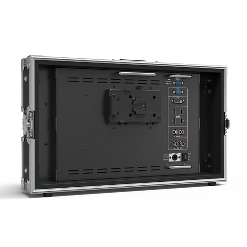 "BM150-4KS 15.6"" Carry-on/Rackable 4K Broadcast Director Monitor with SDI, HDMI, VGA & DVI inputs"