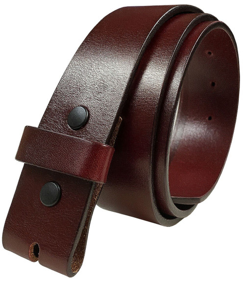 """BS055 Replacement Belt Strap Genuine Full Grain Leather Belt 1-1/2""""(38mm) wide"""