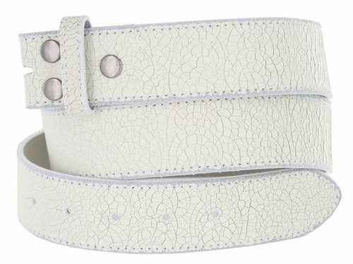 """BS056 Vintage Classic Casual Jean Genuine Leather Belt Strap with Snaps on 1-1/2""""(38mm) Wide"""