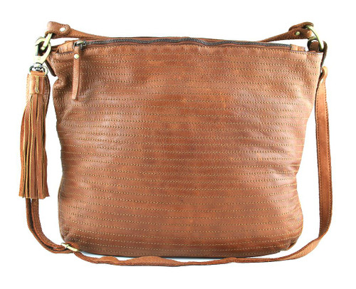 Fashion Classic Vintage Genuine Full Leather Casual Shoulder Cross Bag