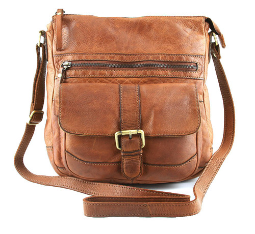 Fashion Classic Casual Vintage Genuine Full Leather Shoulder Cross Bag