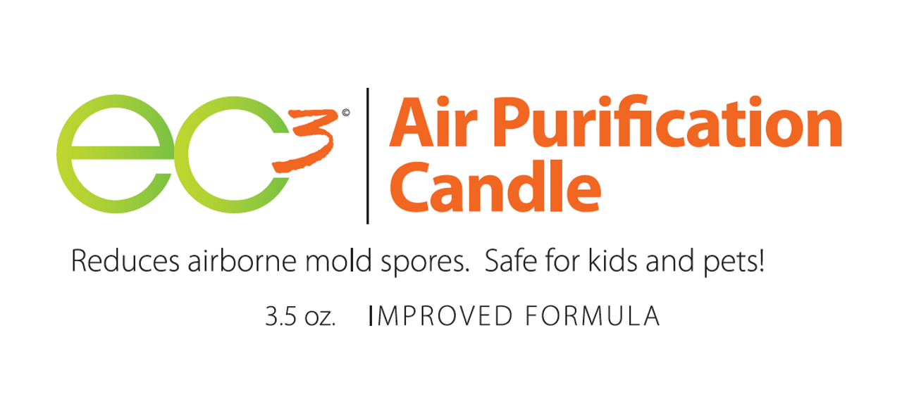 EC3 Air Purification Candle/3-Pack