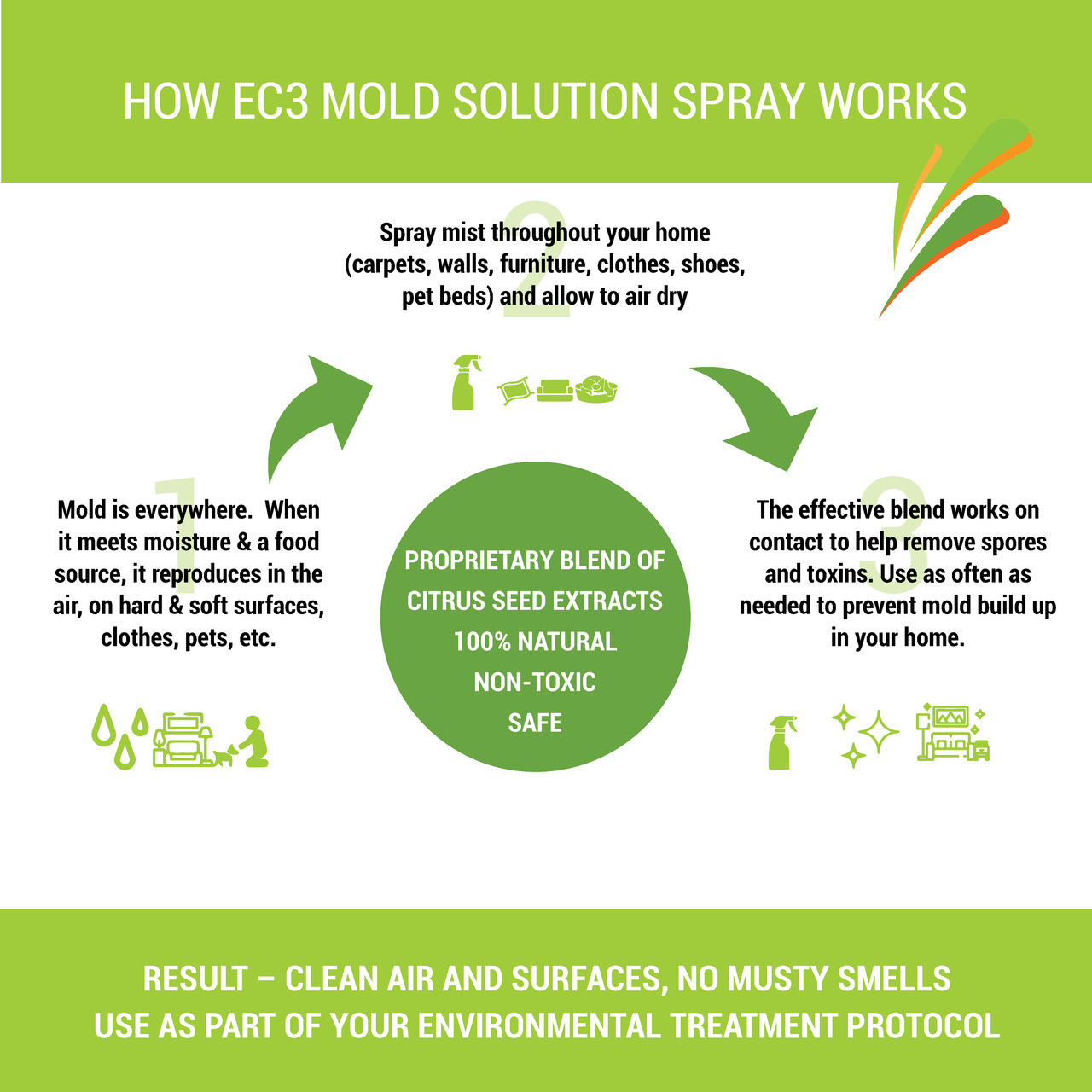 EC3 Mold Solution Spray