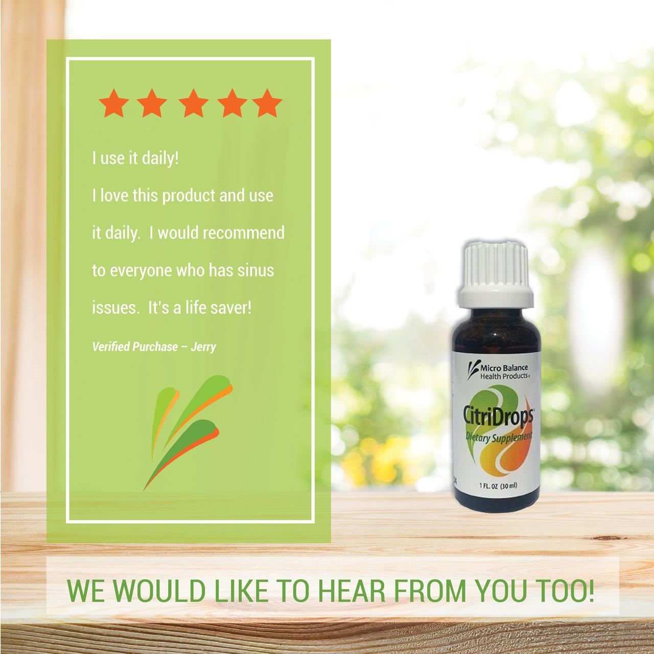 CitriDrops Dietary Supplement