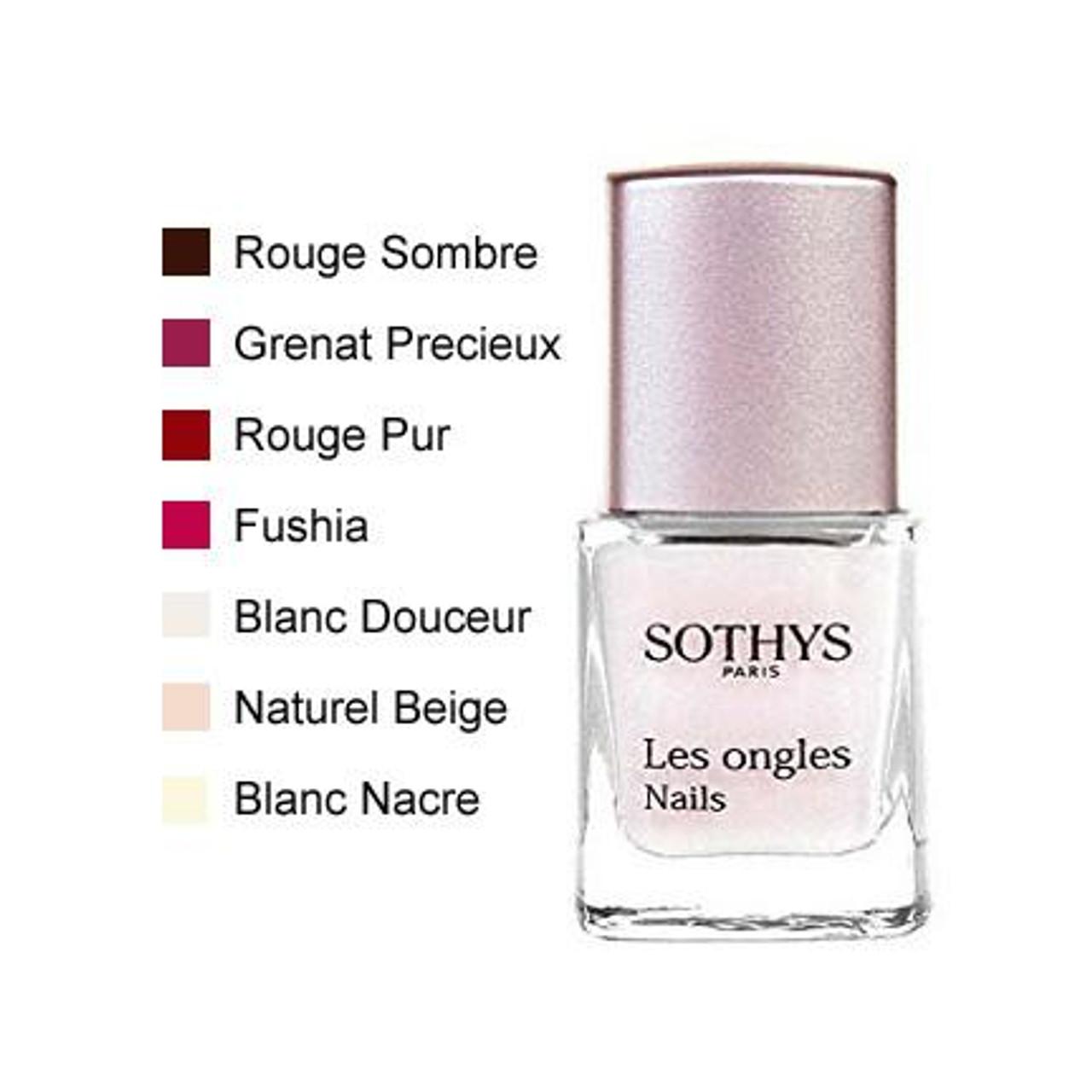 Sothys Nail Enamels - Rouge Pur, nail polish