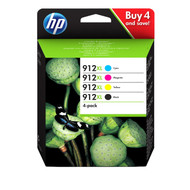 Why buy the HP 912XL Ink Cartridge Quad Pack, 3YP34AE