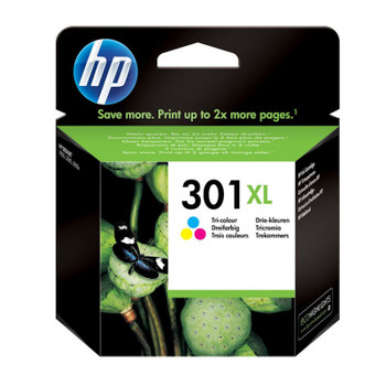 Image for HP 301XL Colour Ink Cartridge CH564EE boxed