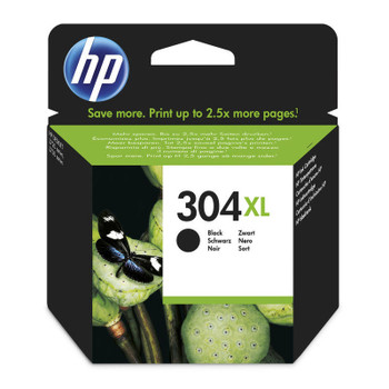 Original HP 304XL Black Ink Cartridge N9K08AE Boxed