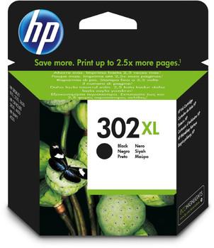Original HP 302XL Black Ink Cartridge F6U68AE