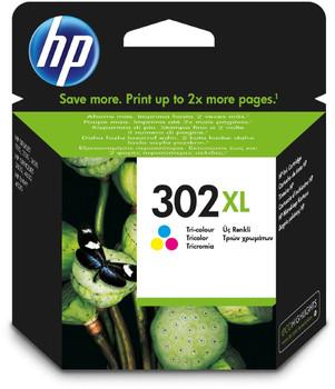 Original HP 302XL Colour Ink Cartridge F6U67AE