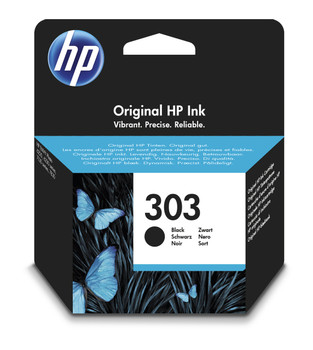 Original HP 303 Black Ink Cartridge T6N02AE