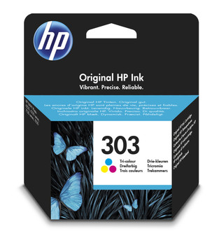 Original HP 303 Colour Ink Cartridge T6N01AE