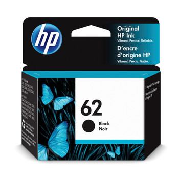 Original HP 62 Black Ink Cartridge C2P04AE