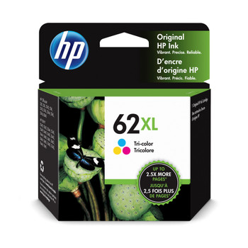 Original HP 62XL Colour Ink Cartridge C2P07AE