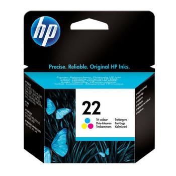 Original HP 22 Colour Ink Cartridge C9352AE