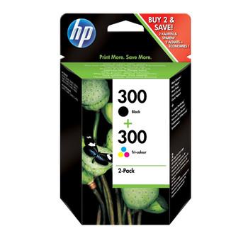 HP 300 Black & Colour Ink Cartridge Combo Pack CN637EE
