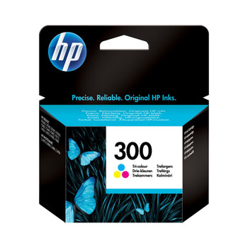 Original HP 300 Colour Ink Cartridge CC643EE
