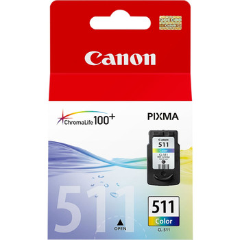 Original Canon CL511 Colour Ink Cartridge 2972B001AA