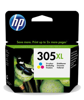 HP Original 305XL Colour Ink Cartridge 3YM63AE