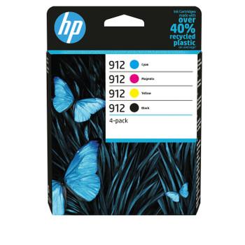 HP Original 912 black cyan magenta yellow ink cartridge combo pack 6ZC74AE 3YL80AE 3YL77AE 3YL78AE 3YL79AE