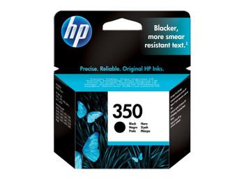 HP Original 350 Black Ink Cartridge CB335EE
