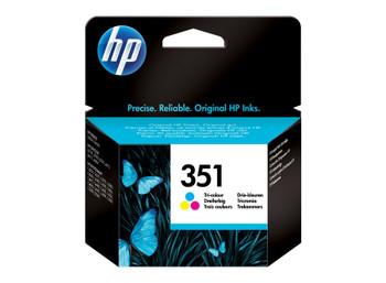 HP Original 351 Colour Ink Cartridge CB337EE