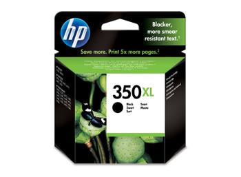 HP Original 350XL Black Ink Cartridge CB336EE