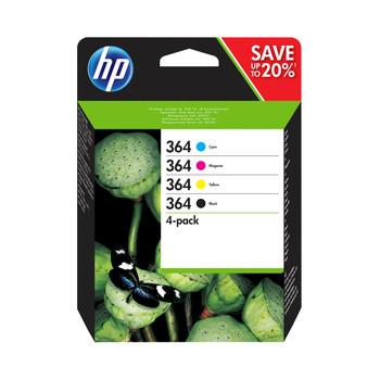 HP Original 364 black cyan magenta yellow ink cartridge combo pack N9J73AE CB316EE CB318EE CB319EE CB320EE