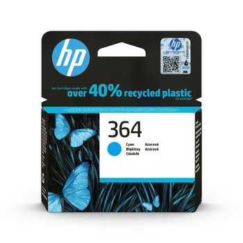 HP Original 364 cyan ink cartridge CB318EE