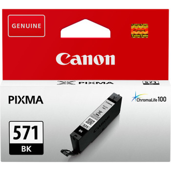 Canon Original CLI571 Black Ink Cartridge 0385C001