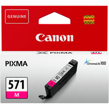 Canon Original CLI571 Magenta Ink Cartridge 0387C001