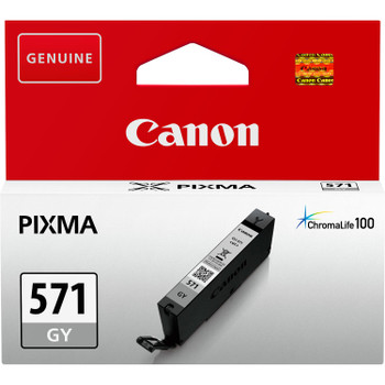Canon Original CLI571 Grey Ink Cartridge 0389C001
