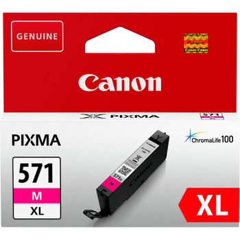Canon Original CLI571XL Magenta Ink Cartridge 0333C001