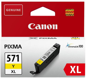 Canon Original CLI571XL Yellow Ink Cartridge 0334C001