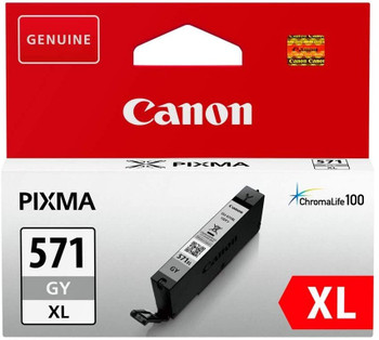 Canon Original CLI571XL Grey Ink Cartridge 0335C001