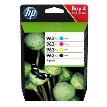 HP Original 963XL Black Cyan Magenta Yellow Ink Cartridge 3YP35AE