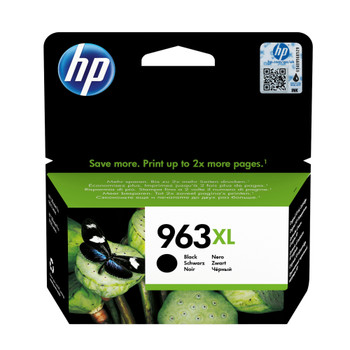 HP Original 963XL Black Ink Cartridge 3JA30AE