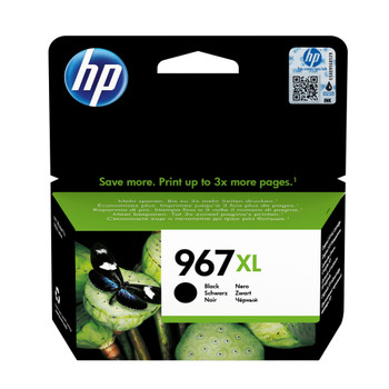 HP Original 967XL BlackInk Cartridge 3JA31AE