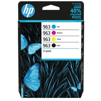 HP Original 963 Black Cyan Magenta Yellow Ink Cartridge 6ZC70AE