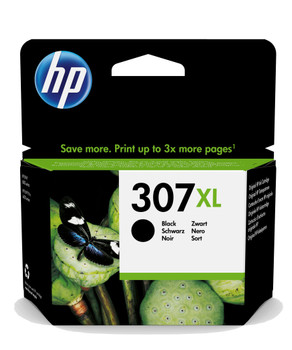 HP Original 307XL Black Ink Cartridge 3YM64AE