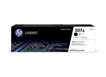 HP 207A Black Original LaserJet Toner Cartridge W2210A