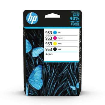 HP Original 953 Black Cyan Magenta Yellow Ink Cartridge 6ZC69AE