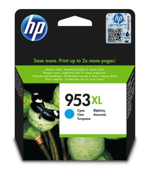 HP Original 953XL Cyan Ink Cartridge F6U16AE