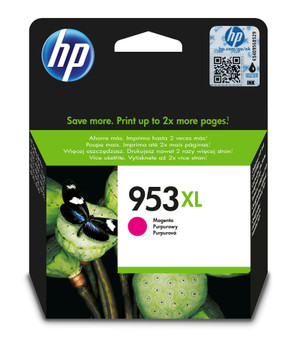 HP Original 953XL Magenta Ink Cartridge F6U17AE