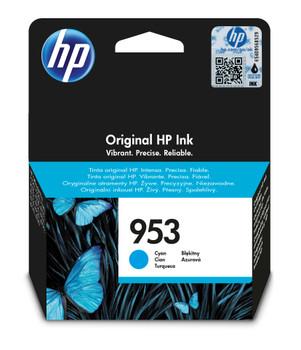 HP Original 953 Cyan Ink Cartridge F6U12AE