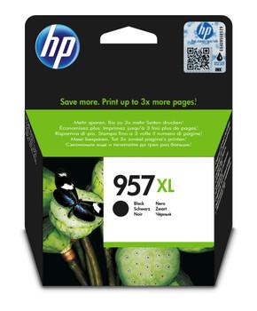 HP Original 957XL Black Ink Cartridge L0R40AE