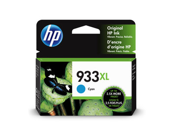 HP Original 933XL Cyan Ink Cartridge CN054AE