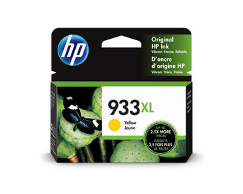 HP Original 933XL Yellow Ink Cartridge CN056AE