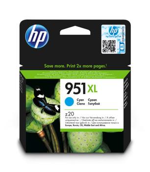 HP Original 951XL Cyan Ink Cartridges CN046AE