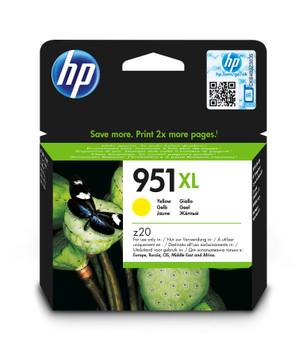 HP Original 951XL Yellow Ink Cartridges CN048AE